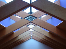 Tetraleaf -Veneered DF Trusses, Backen, Gilliam & Kroeger Architects