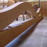 Lamella DF composite glued Arch, Bohlin Cywinski Jackson