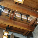 Solid DF Beams, Bellevue Square, Sclater Partners Architects