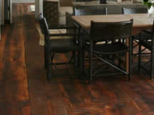 Reclaimed DF Flooring, antique Patina, Bosworth Hodemaker Architects