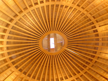 Veneered White Oak Dome